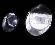 Pack sidelights led (xenon white) for Mercedes CLK W208