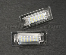 Pack of 2 LEDs modules license plate VW Audi Seat Skoda (type 7)