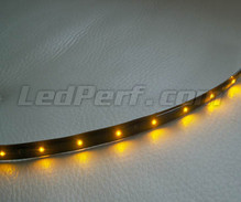 Led strip waterproof and flexible for customization - Orange - 60cm