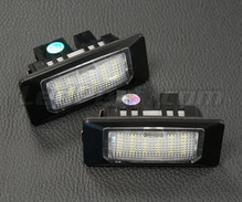 Pack of 2 LEDs modules license plate VW Audi Seat Skoda (type 9)