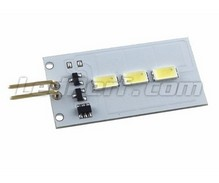 Circuit Led Audi / VW - Footwell - Cool White - Anti-error OBC - 6500K