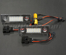 Pack of 2 LEDs modules license plate VW Audi Seat Skoda (type 12)