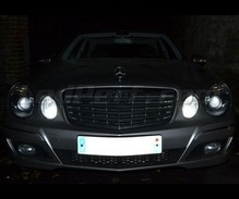 Sidelight and DRL LED Pack (xenon white) for Mercedes E-Class (W211)