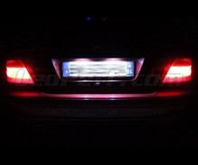 Pack LED License plate (6000K pure white) for Mercedes CLK W208