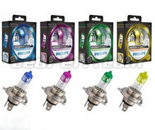 Pack of 2 Philips ColorVision H4 bulbs