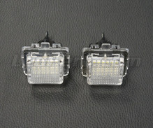 Pack of 2 LEDs modules license plate MERCEDES (type 4)
