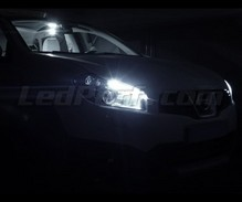Pack sidelights LED (xenon white) for Nissan Qashqai