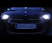Pack LED sidelights / daytime (xenon white) Citroen DS4