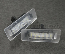 Pack of 2 LEDs modules license plate HYUNDAI and KIA