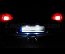 LED Licence plate pack (xenon white) for Porsche Boxster 986