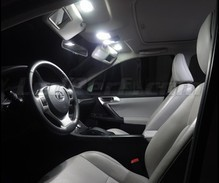 Pack interior Full LED (Pure white) for Lexus CT