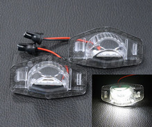 Pack of 2 LEDs modules license plate for Honda Jazz