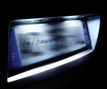 Pack LED (pure white) rear license plate Citroen C4 Cactus