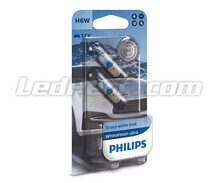 Pack of 2 Philips BlueVision ULTRA Halogen Sidelights - White - Base H6W