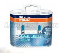 Pack of 2 Bulbs H3 Osram Cool Blue Hyper
