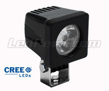 Additional LED Light CREE Square 10W for Motorcycle - Scooter - ATV