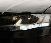 Pack LED daytime running lights (DRL) xenon white for Audi B8 A4