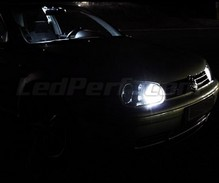 Pack sidelights led (xenon white) for Volkswagen Golf 4