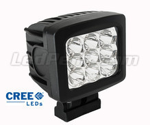 Additional LED Light Square 90W CREE for 4WD - ATV - SSV