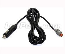 Cigarette Plug Cable Harness for LED Bar and LED Headlight - DT Connector
