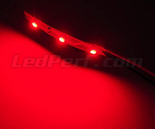 Standard flexible strip with 3 SMD LED TL red