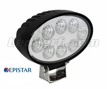 Additional LED Light  Ovale 24W  for 4WD - ATV - SSV