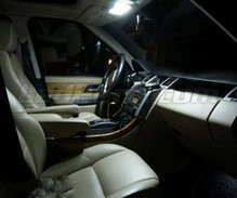 Pack interior Full LED (Pure white) for Range Rover L322 Basic