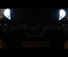 Pack sidelights LED (xenon white) for Nissan Juke