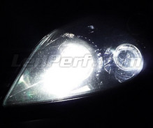 Pack sidelights LED (xenon white) for Opel Astra H