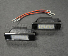 Pack of 2 LEDs modules license plate PEUGEOT / CITROEN (type 2)