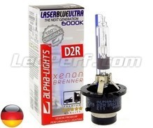 Bulb Alpha-Lights Xenon D2R 6000K LASER BLUE ULTRA - Made in Germany