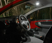 Pack interior Full LED (Pure white) for Peugeot 107