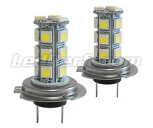 Pack of 2 H7 LEDs Bulbs 6000K