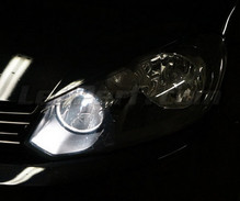 Xenon Effect bulbs pack for Volkswagen Sharan 7N headlights and daytime running lights