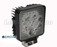 LED Working Light Square 27W for 4WD - Truck - Tractor