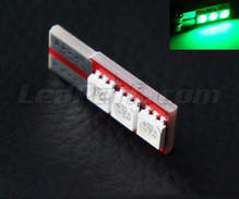 Led Motion T10 - Green - Light side - No dash error W5W