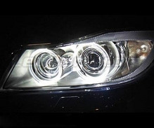 Pack LED angel eyes for BMW 3 (E90 - E91) Phase 1 - with original xenon - Standard