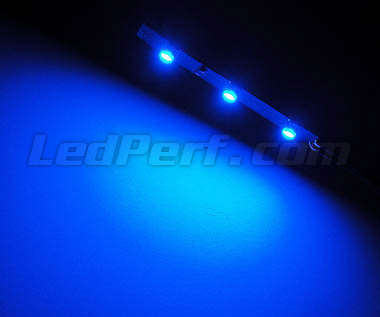 Standard flexible strip with 3 leds TL SMD blue