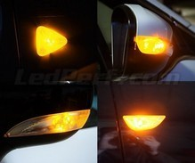 Side direction indicator LED pack for Citroen C2