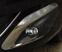 Pack front Chrome turn signal for Peugeot 308 II