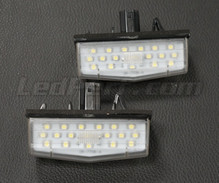 Pack of 2 LEDs modules license plate TOYOTA (type 4)