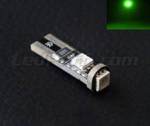 Led T10 Panther - Green - Anti-board computer error W5W