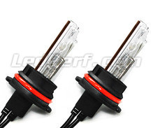 Pack of 2 HB5 9007 5000K 55W Xenon HID replacement bulbs