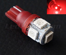 T10 Xtrem Red HP LED bulb (w5w)