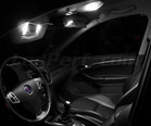 Pack interior Full LED (Pure white) for Saab 9-3