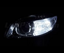 Pack sidelights LED (xenon white) for Skoda Fabia 2 Non-facelift
