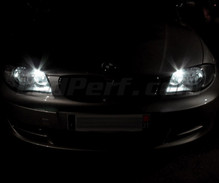 Pack sidelights led (xenon white) for BMW 1 Series E81 E82 E87 E88