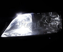 Pack sidelights LED (xenon white) for Opel Astra G