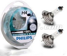 Pack of 2 bulbs H4 Philips X-treme Power Vision +100%