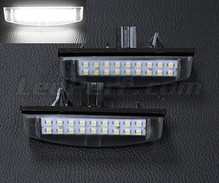 Pack of 2 LEDs modules license plate for Toyota Avensis MK1